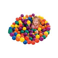 Набор из 100 разноцветных пластиковых шаров INTEX