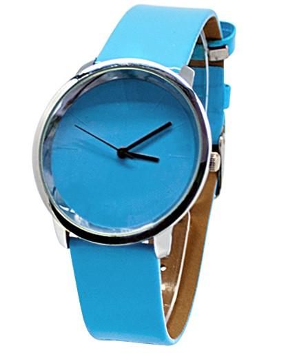 Голубые часы Eco
