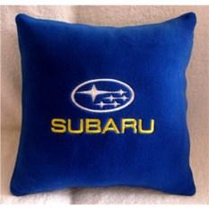Синяя подушка Subaru