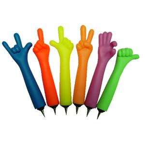 Веселые шариковые ручки