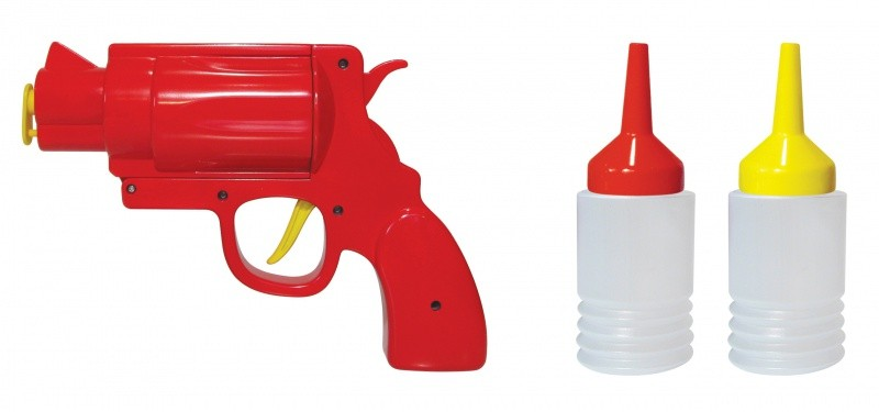 Диспенсер для кетчупа и горчицы Condiment Gun
