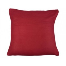 Складывающийся в подушку, красный плед с рукавами