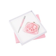 Подарочный набор аксессуаров «Роза», розовый