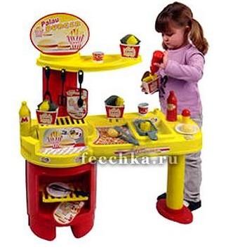 Игровая кухня Закусочная, Palau Toys