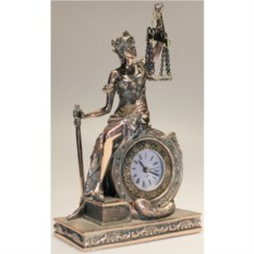Настольные часы Фемида (21 см)