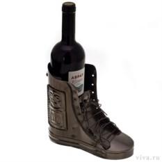 Держатель для бутылок «Ботинок со шнурками»