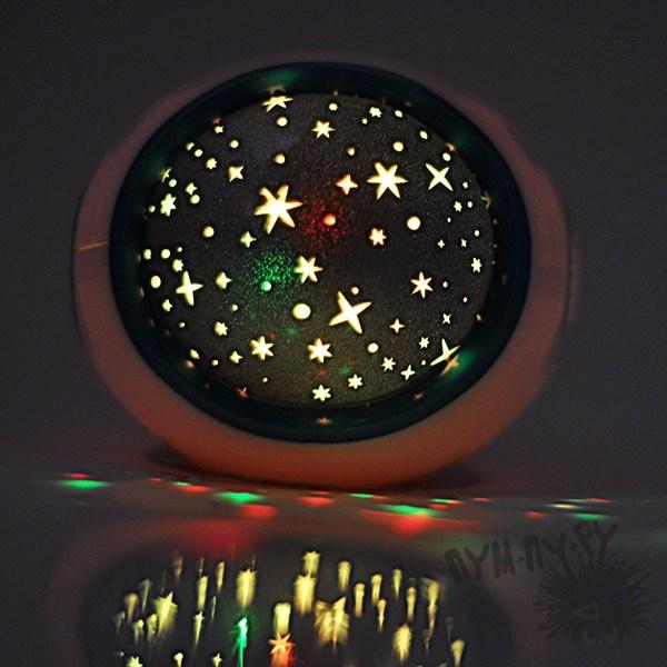 Музыкальный будильник-проектор Звездное небо