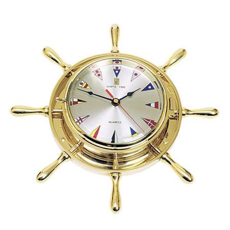 Часы-штурвал (настенные)