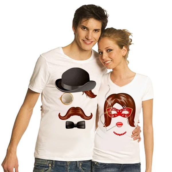 Парные футболки Мистер и миссис