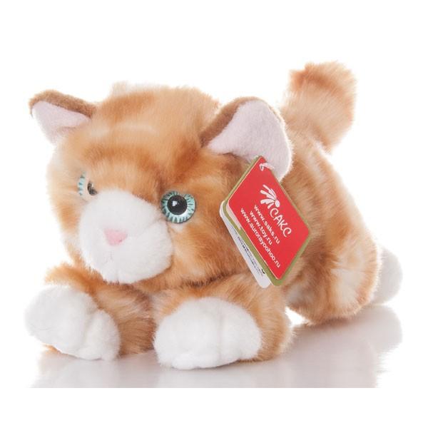 Мягкая игрушка Aurora Рыжий котенок