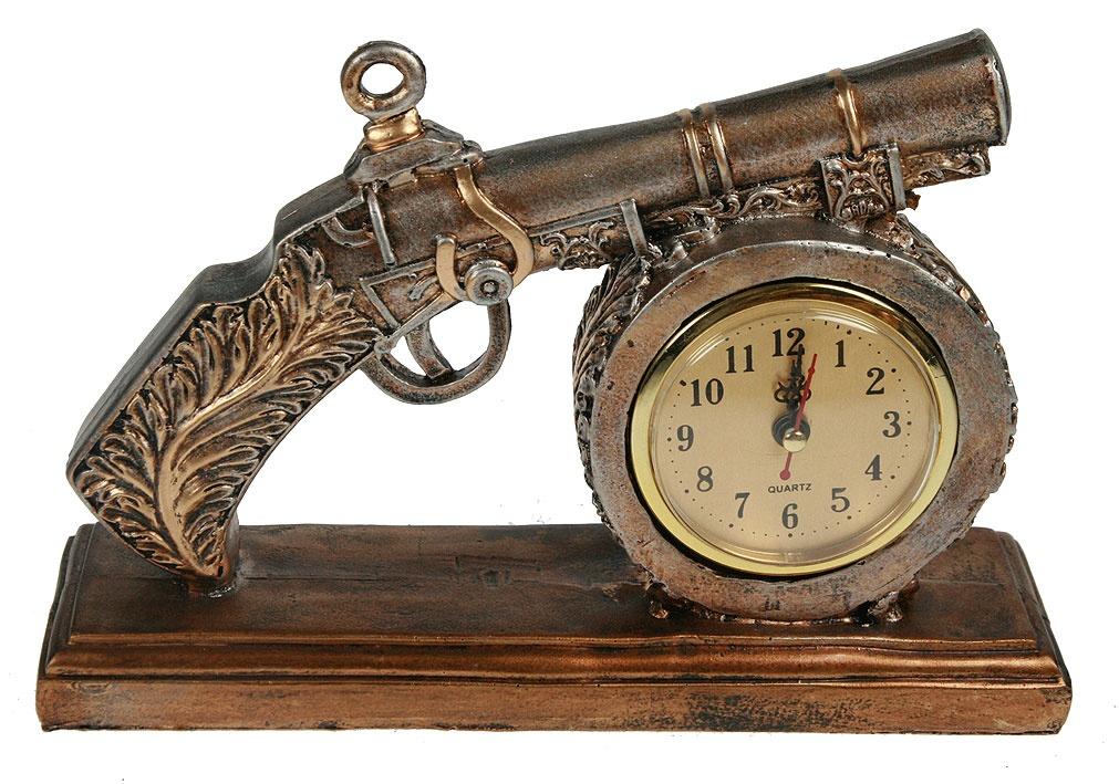 Часы настольные Пистоль