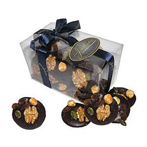 Тёмный шоколад с орехами Jodier Mendiants