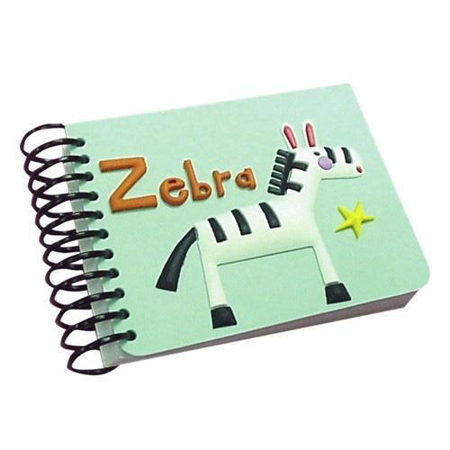 Блокнот «Зебра на спирали»