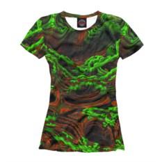 Женская футболка Fractal Ayahuasca Jungle