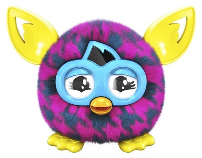Игрушка Furbling Purple Houndstooth (фиолетовая куриная лапка)