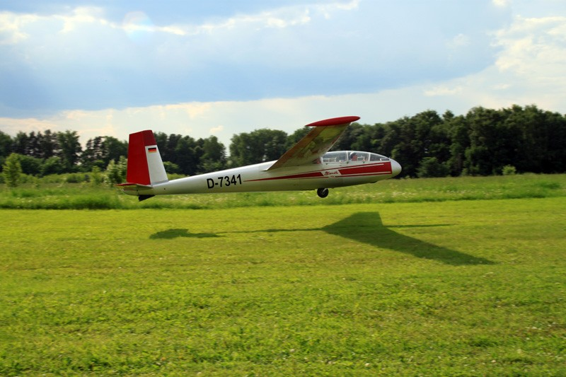Полет на планере Blanik L-13