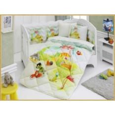 Детский комплект в кровать с бортиками V2