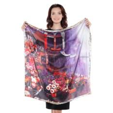 Женский платок с принтом Frantelli