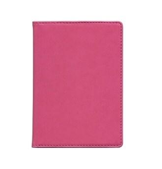 Розовая обложка для паспорта Time System Skiver