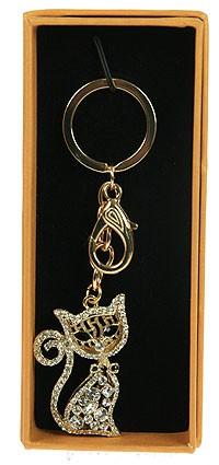 Брелок для сумочки и ключей Кошечка