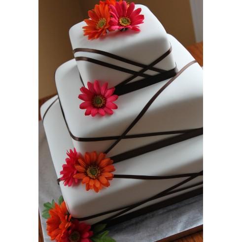 Свадебный торт №38