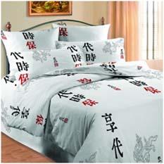 Двуспальное постельное белье CHINA
