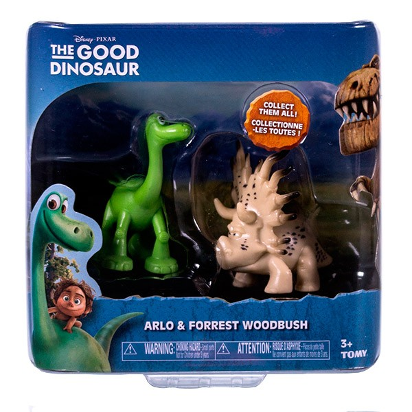 Набор фигурок Good Dinosaur Арло и Аконтофиопс