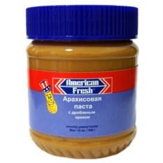 Арахисовая паста American Fresh (с дробленым орехом) 340 гр