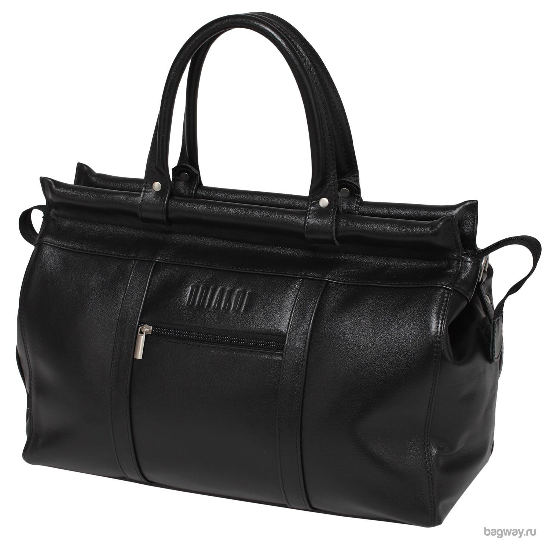 Кожаная дорожная сумка Travel Midland от Brialdi