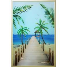 Картина Swarovski Пирс к морю