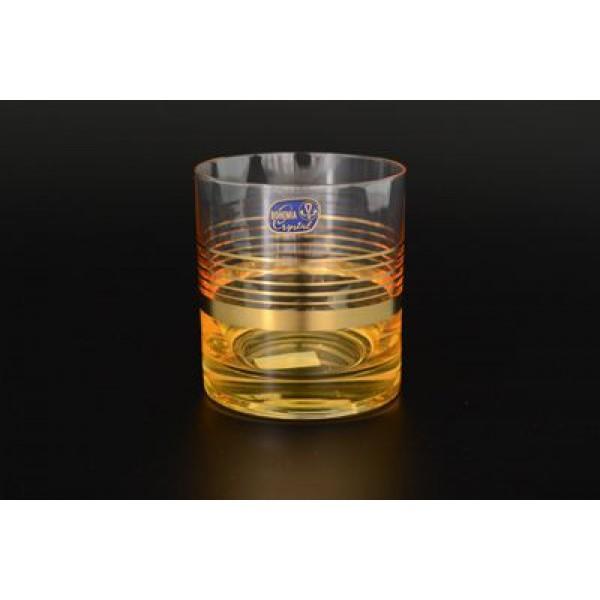 Набор из 6 стаканов для виски 280 мл