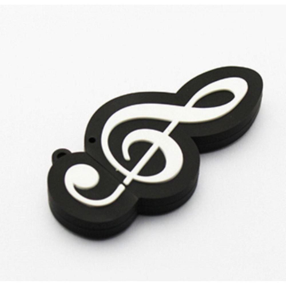 Флешка Скрипичный ключ на 16гб