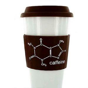 Термочашка Printed Band — Caffeine