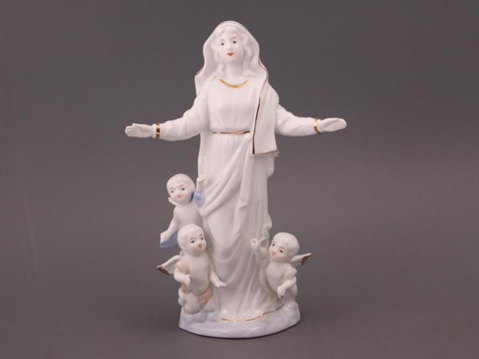 Статуэтка Дева Мария с ангелом Hangzhou Jinding