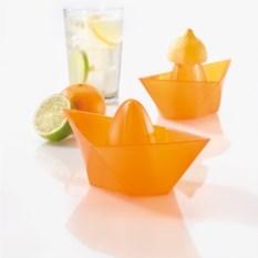 Оранжевая соковыжималка AHOI «Кораблик»