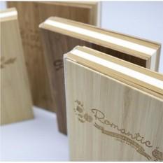 Креативбук с деревянной обложкой Wooden style
