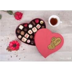 Набор шоколадных конфет ручной работы «Признание в любви»