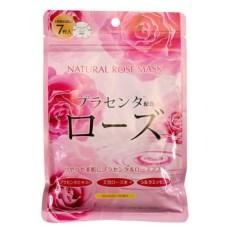 Курс натуральных масок для лица с экстрактом розы Japan Gals