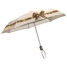 Зонт складной с бантиком