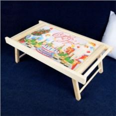 Столик для завтрака в постель «Новогодний»