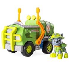 Игровой набор Paw Patrol Машина спасателя со щенком Рокки