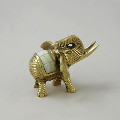 Статуэтка из латуни Слон