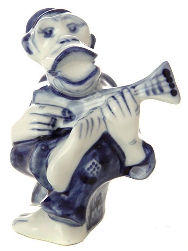 Скульптура Обезьянка - дед