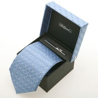 Набор: галстук и заколка для галстука.S.QUIRE    100903lbl