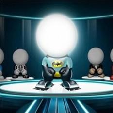 Светодиодная лампа Супер герой Transform Freak