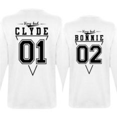 Парные толстовки Bonnie и Clyde