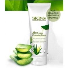 Очищающая пенка с алое Skin79 Aloe Aqua Cleansing Foam