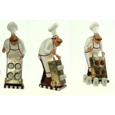 Набор для специй Шеф-повар (4 баночки)
