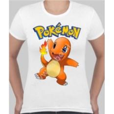 Женская футболка с покемоном Чармандер