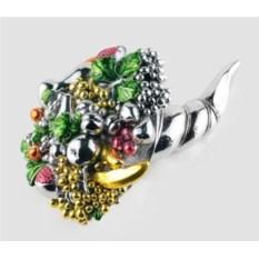 Статуэтка Рог изобилия с ягодами и фруктами - 2